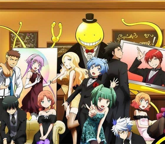 Assassination Classroom Filler List