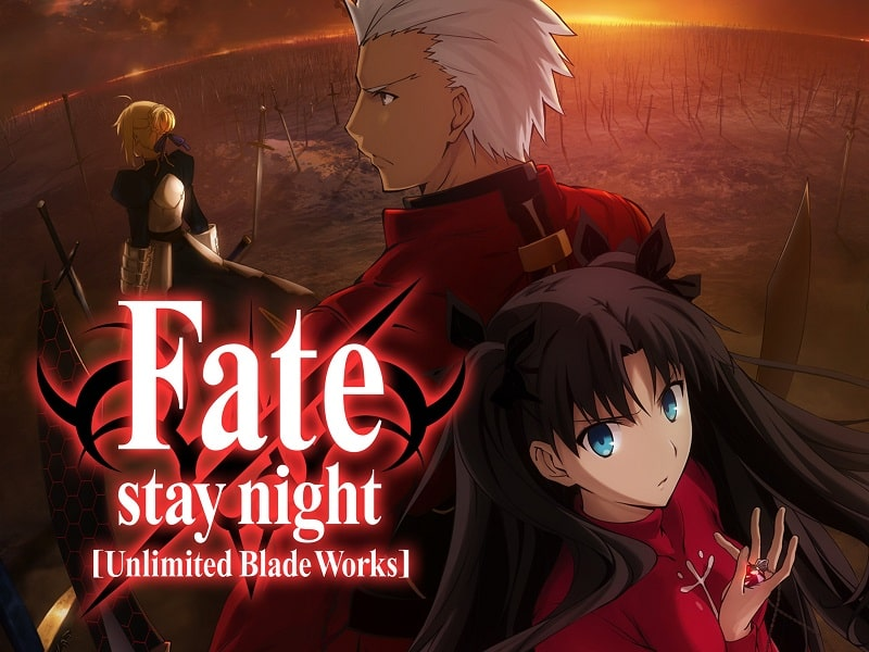 Fate Stay Night Unlimited Blade Works Filler List
