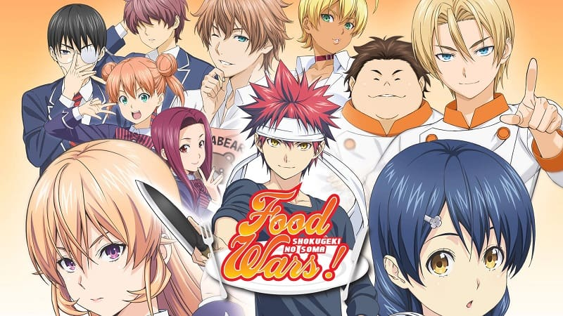Food Wars The Fifth Plate Filler List