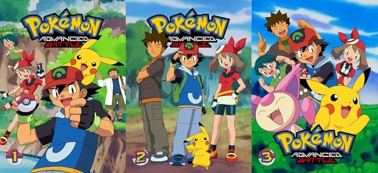 Pokemon Advanced Generation Filler List