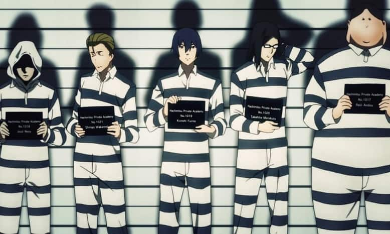Prison School Filler List