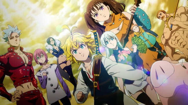 The Seven Deadly Sins Series watch order guide