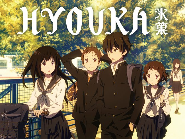 Hyouka Series watch order guide