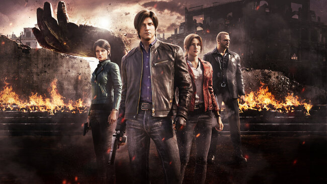 Resident Evil-Infinite Darkness (Limited Series)