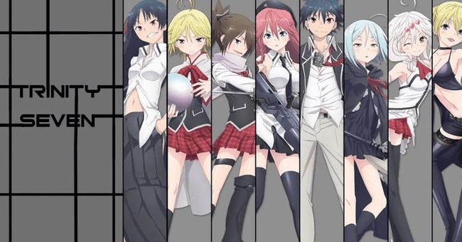 Trinity Seven anime
