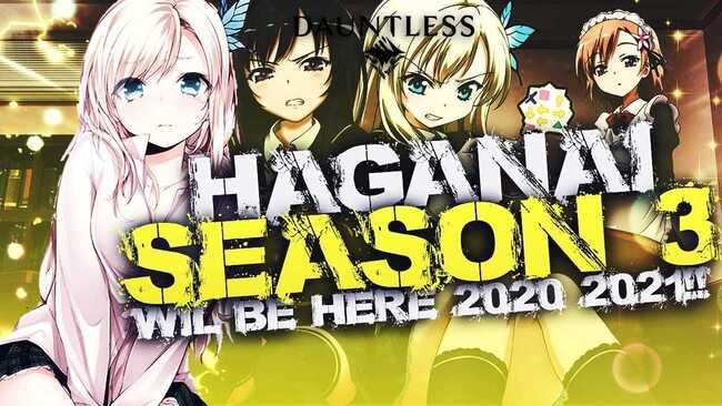 Haganai Season 3 Updates